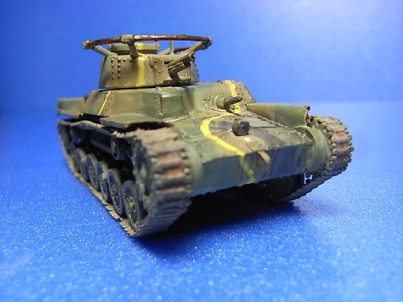 エアフィックス 1/76 九七式中戦車チハ